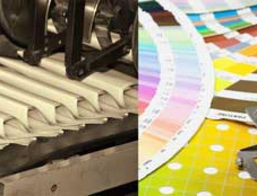 Produkcja papieru i drukarnie