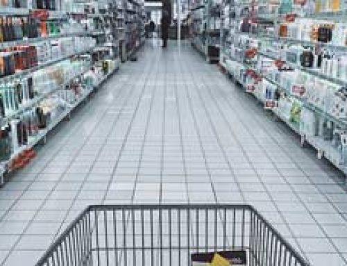 Dezynfekcja supermarketu